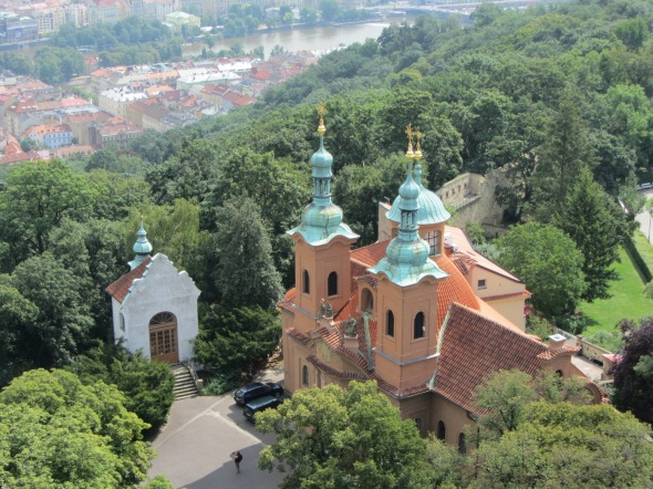 Monastery from Tower