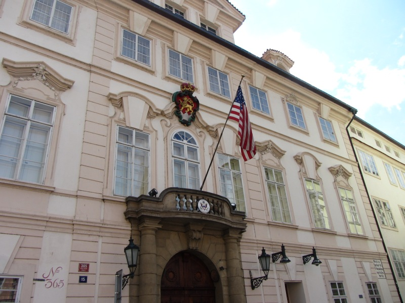 US Embassy Malá Strana
