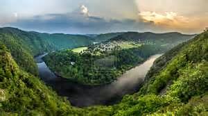 Vltava River Czech Republic