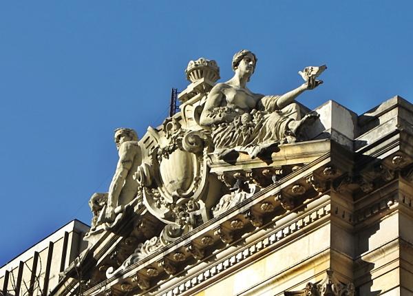 Reliefs National Building