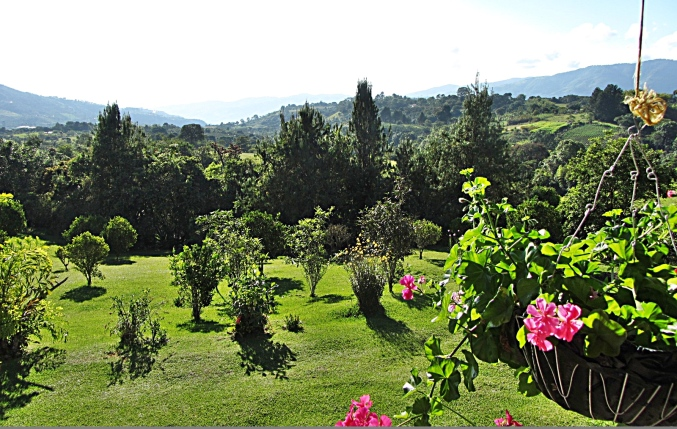 Finca el Cielo from Veranda