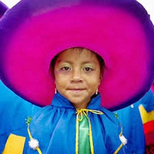 Adorable Carnival Girl