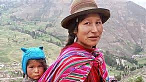 Quechua Woman & Child