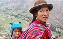 Quechua Woman with Child