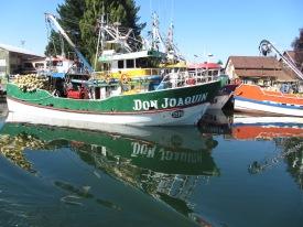Fishing Boats Valdivia River