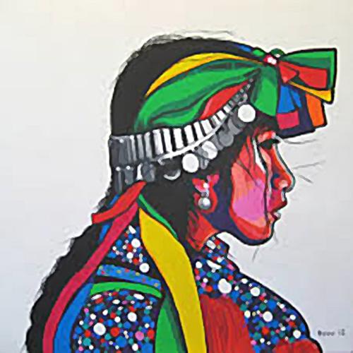 Mapuche Woman