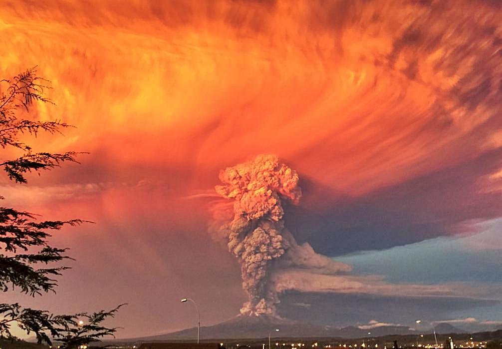 Bariloche, Argentina and Volcano Calbuco