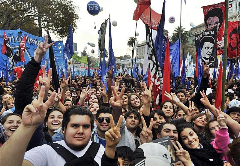 La Cámpora Demonstration