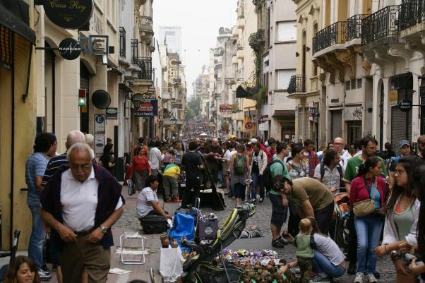 Flea Market Defensa Street - San Telmo