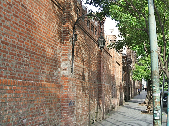 Recoleta Cemetery Walls