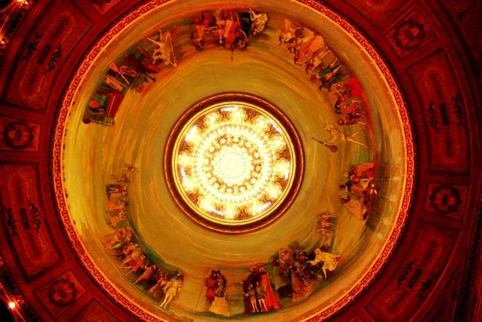 Ceiling Frescoes by Raul Soldi