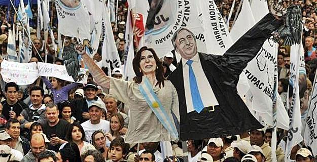 Néstor and Cristina Fernández de Kirchner
