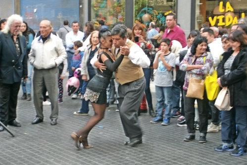 Tango Dancers 25th Mayo Celebration
