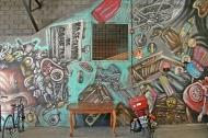 Street Art Near Mercado de las Pulgas
