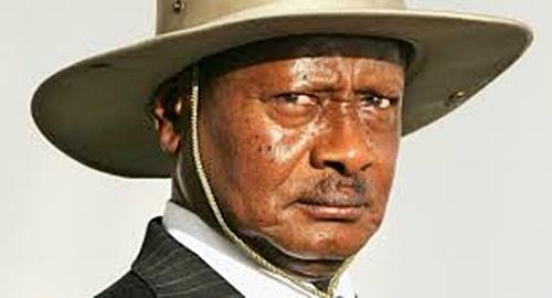 Incumbent President Yoweri Museveni