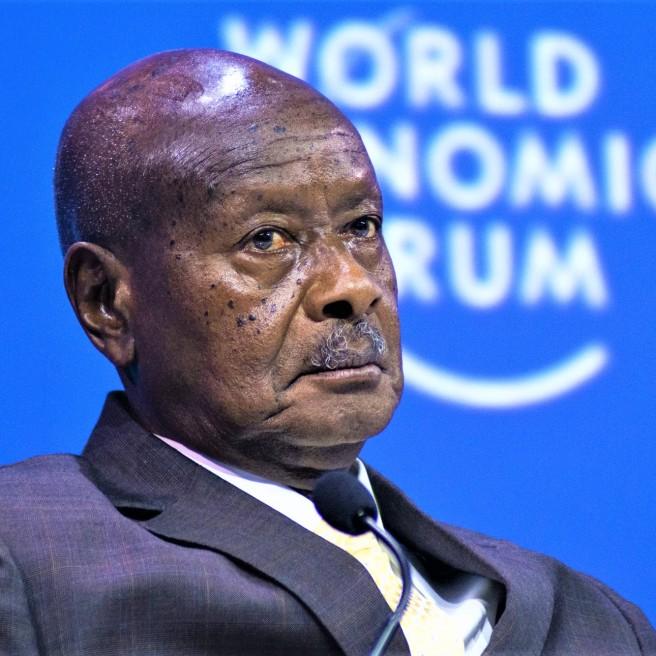 Ugandan President Yoweri Museveni - Bloomberg