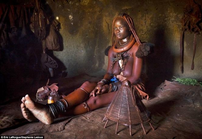 Young Himba Woman