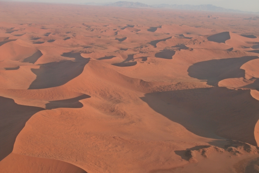 Dunes from Airplane
