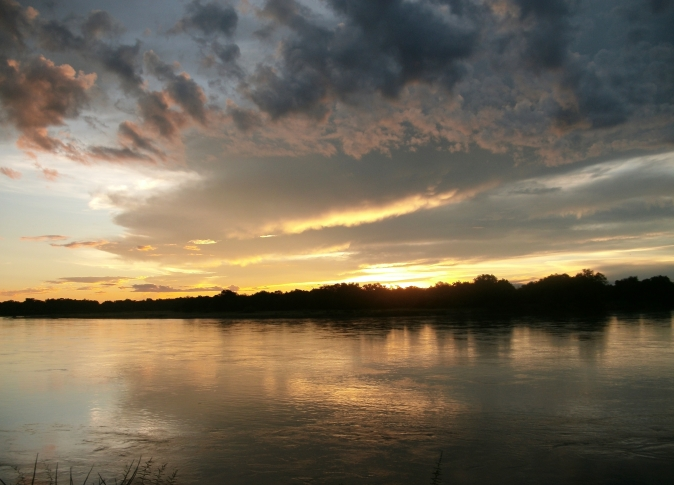Sunset Luangwa River