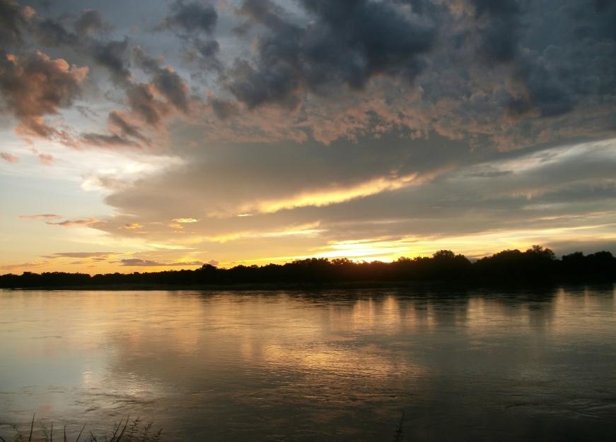 Sunset Luangwa River