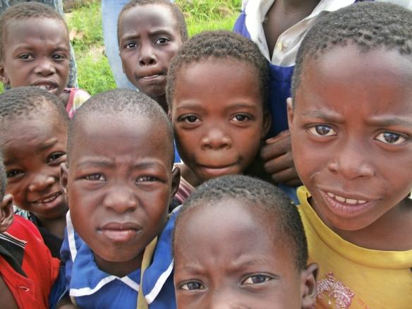 Students Mbewa Village