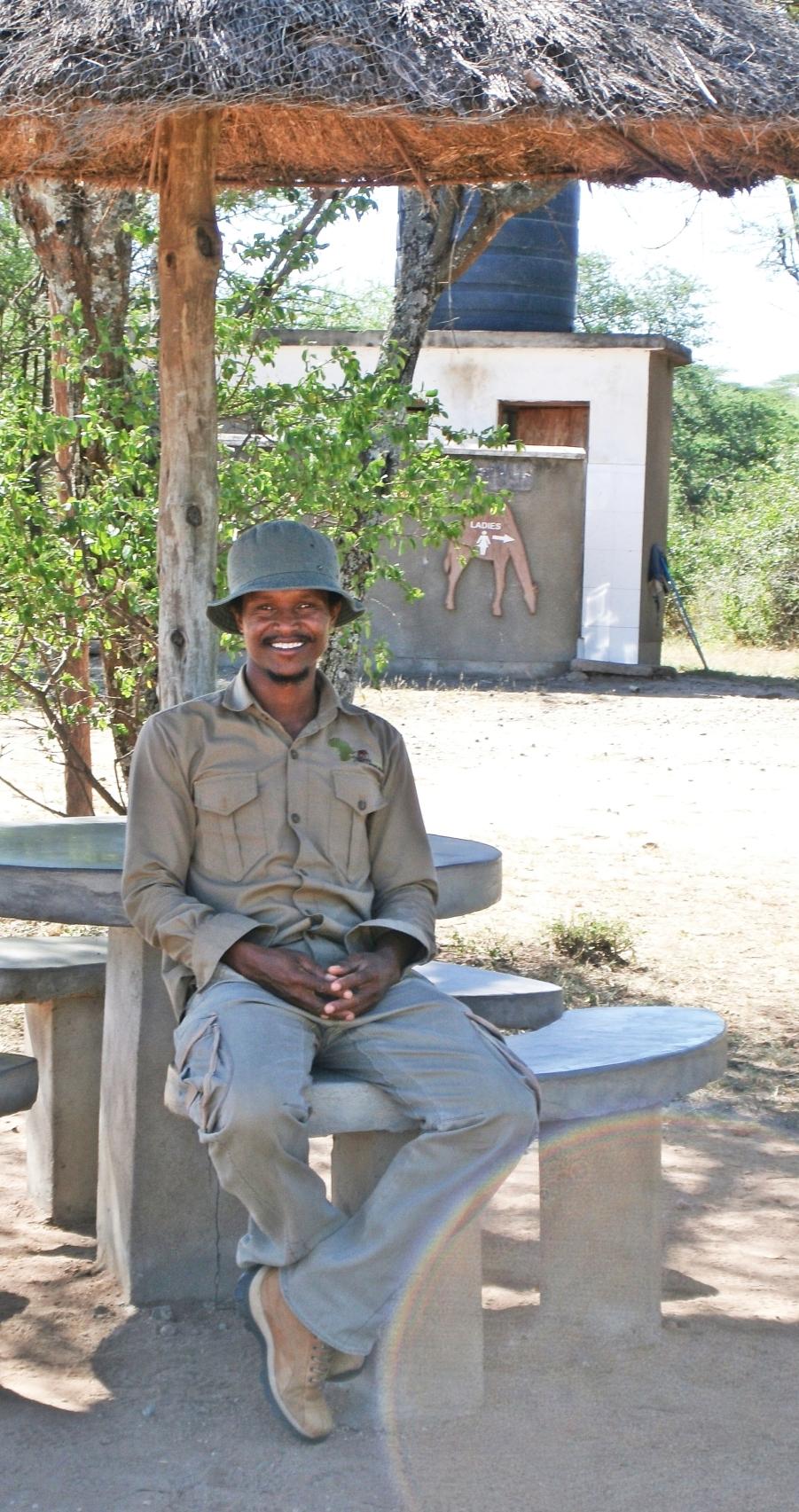African Guide Godlove