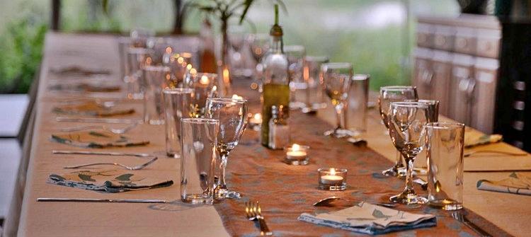 Fallen Baobab Camp Dinner