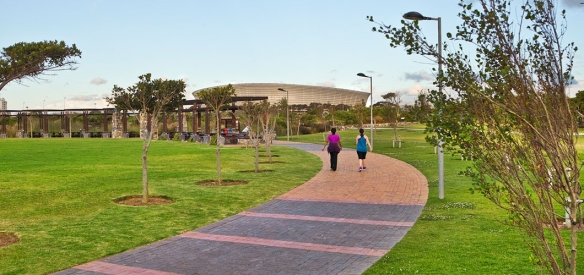 Cape Town Stadium from Green Point Park