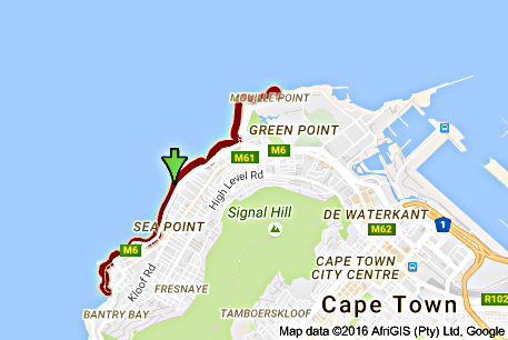 Mouille Point and Surrounding Areas