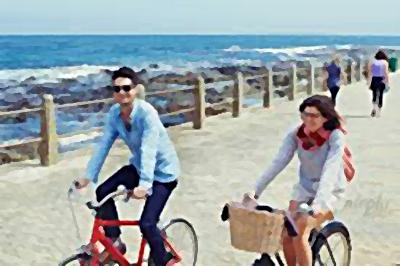 Promenade Cyclists
