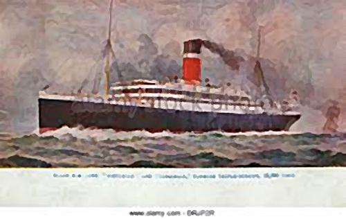 Royal Mail Steamer Athens
