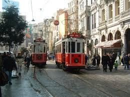 Istanbul Taksim Trolley