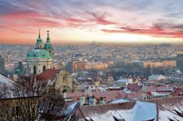Skyline Prague Czech Republic