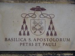 Basilica Sign