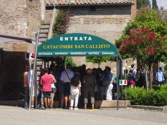 Entrance San Callisto Catacombs