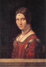 Da Vinci La Belle Ferronniere