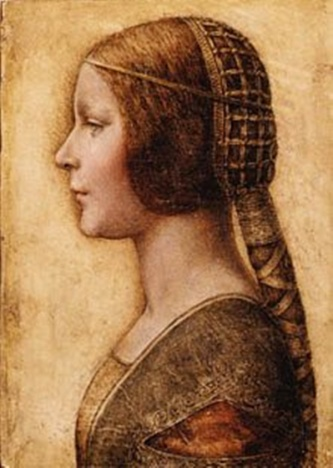 Da Vinci The Head of a Young Girl