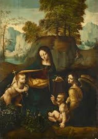 Da Vinci The Virgin of the Rocks