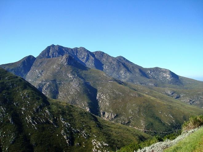 Outeniqua Mountain Range