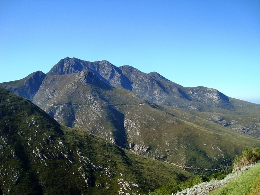 Outeniqua Mountain Range