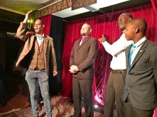 Josue Musenge, Anele Dyasi, Marcel Oudejans Host / Producer, Alan Marriott Host