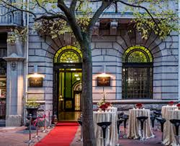 Back Entrance Taj Cape Townb