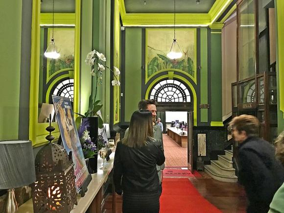 Taj Back Entrance to Magic Show