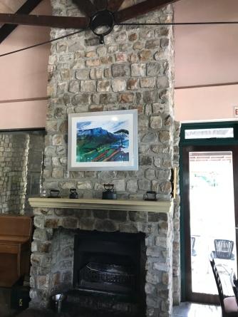 Restaurant Fireplace