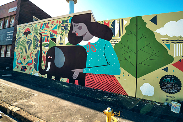 Station Drive Mural