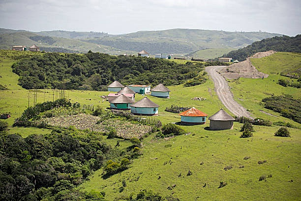 Xhosa Village Transkei