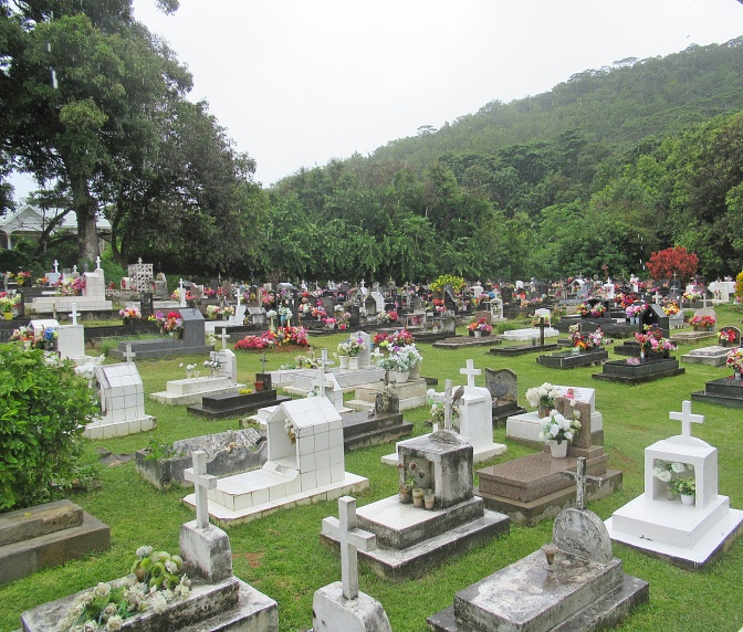 La Digue Cemetery