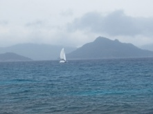 Sailboat La Digue