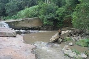Waterworks Ruin Spillway