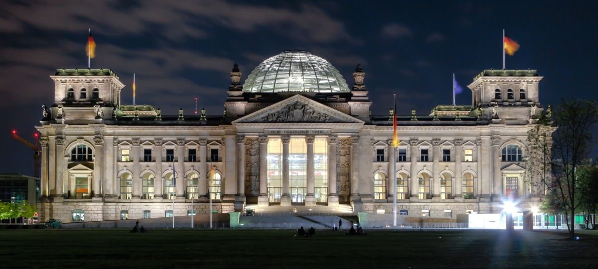 Berlin's Bundestag, Reichstag Building and Dome